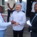 Le Chef de Projet à la banque Mondiale visite l'Institut National de la Statistique